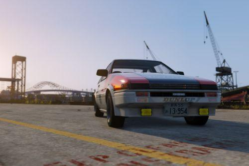 AE86 TRD RACING Paintjobs [4K]
