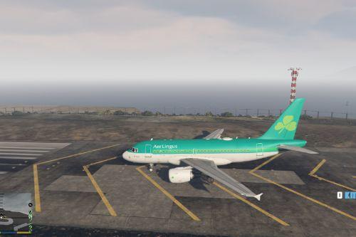 Aer Lingus A318 Livery