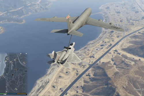 Aerial Aircraft Refueling (In Air)