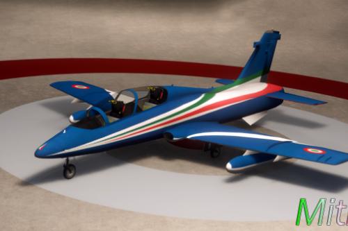 Aermacchi MB-339 - Frecce Tricolori
