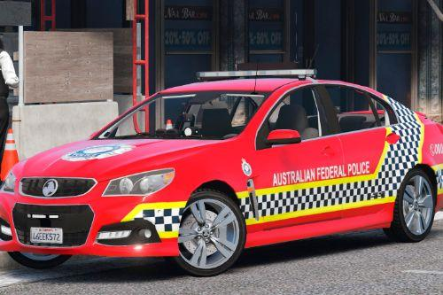 AFP Protective Services Skin for Holden Commodore VF