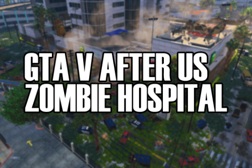 After Us Apocalypse Zombie Hospital Base Normal Or Abandoned + Interior (Zombies Mod)(Zombie Base)