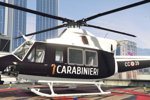 Agusta Bell 412 PACK- CARABINIERI e GUARDIA DI FINANZA