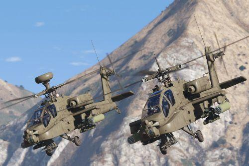 AH-64D Longbow Apache [Add-On | Wipers]