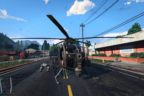 AH-6J Little Bird Navy