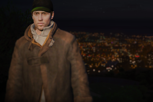 Aiden Pearce from Watch Dogs [Add-On Ped]