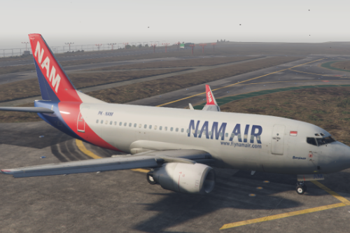 Asia 737+A320 livery package