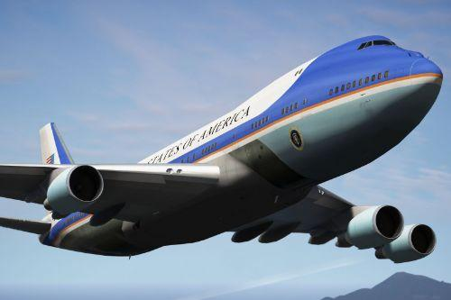 Air Force One Boeing VC-25A  [Enterable Interior | Add-On]