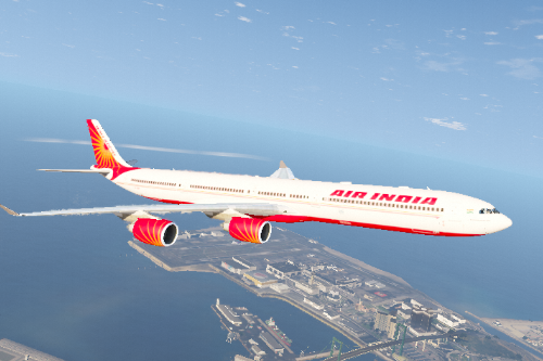 Air India A340-600 Fictional Livery
