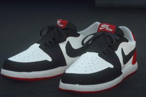 Air Jordan 1 Lows Texture