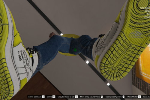 "Air Jordan 1 X Off-White ""UNRELEASED"" canary yellow"