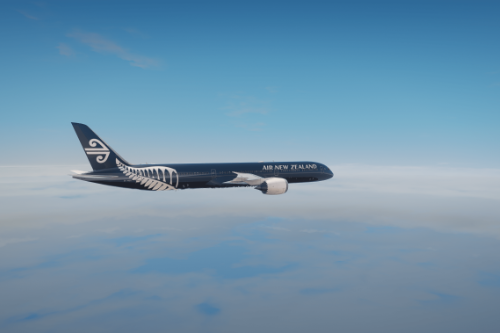 Air New Zealand 'All Blacks' Livery for Boeing 787-10 Dreamliner