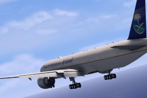 Boeing 777-300ER Air Saudi || طيران السعودية