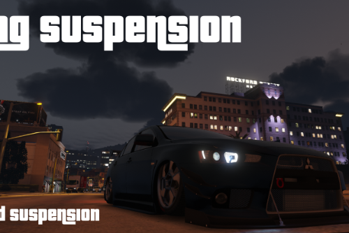 Real Airbag Suspension (w/ Gamepad Support)