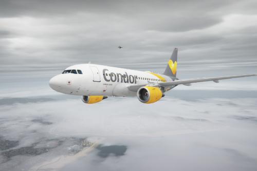 Airbus A318-111 Condor Livery