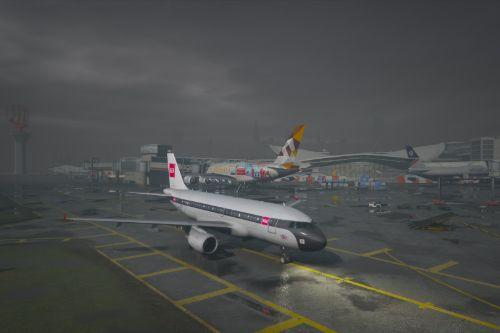 Airbus A319 Retro Livery Pack