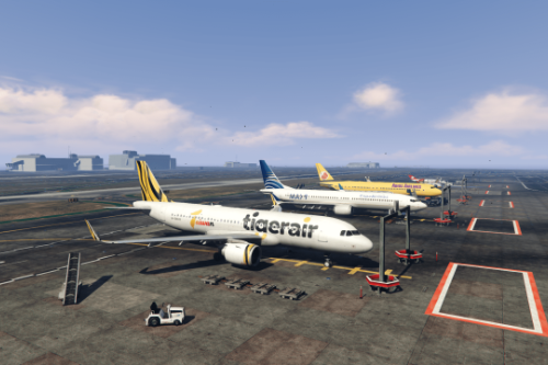 Airbus A320-211/A320-211SL/A320neo LCC Mega Pack