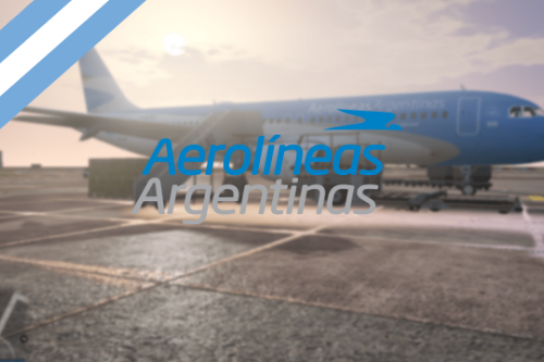 Airbus A320 Aerolineas Argentinas [Add-On | FiveM] Buenos Aires, Argentina - Avion Airplane