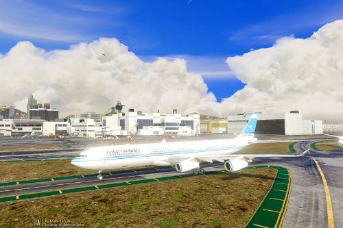 Airbus A340-300 Mini Livery Pack (Kuwait & Scandinavian)