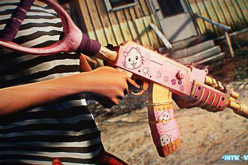 AK-47 Kitty Revenge from Rust.