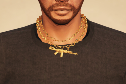 AK-47 necklace chain for MP Male and MP Female