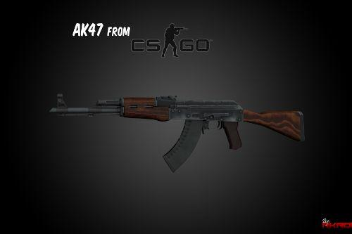 AK47 from CS:GO [Animated]