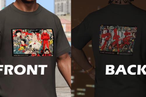 Akira T-shirt for Franklin