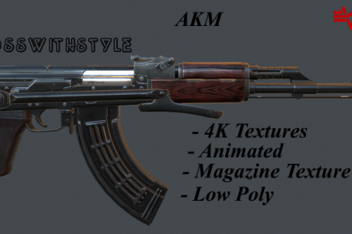AKM [4K | Animated]