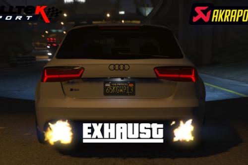 Akrapovic/Milltek Exhaust for Audi RS6 2016