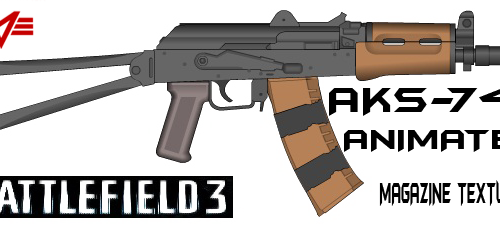 AKS-74U (BF3) [Animated]