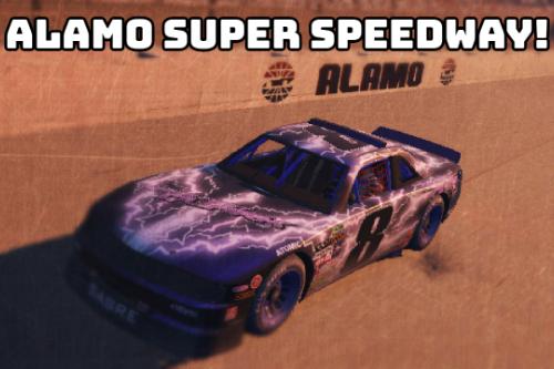ALAMO SUPER SPEEDWAY! (HOTRING)