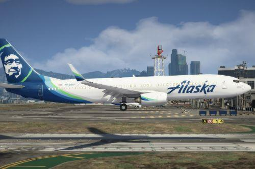 Alaska Airlines Boeing 737 Livery Pack