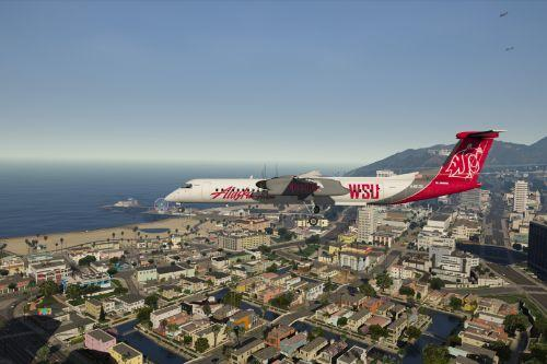 "Alaska / Horizon Air ""College Sports"" Bombardier Dash-8 Q400 Livery Pack"