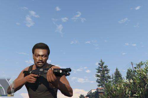 Albert Popwell for GTA 5 (an actor modification)