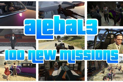 100 new missions (50 free)- alebal3 missions pack [Mission Maker]