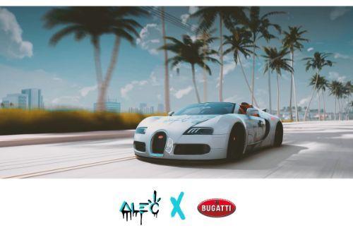 Alec Monopoly livery for Bugatti Veyron