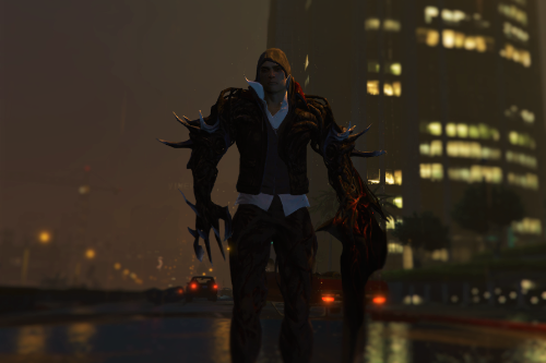 Alex Mercer from Prototype 2 [Ped Add-On]