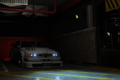 Alfa Romeo 155 TI DTM [Add-On | LODs]