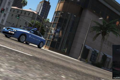 Alfa Romeo 156 Polizia di Stato