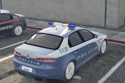 """Alfa Romeo 159 - Polizia - Livrea """"Panterona"""""""