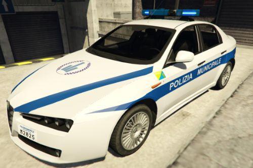 Alfa Romeo 159 - Polizia Municipale | Comune di Cervia - Emilia Romagna [ELS]