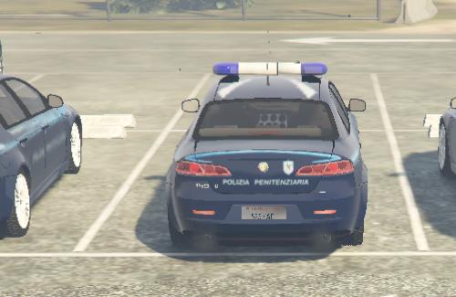 Alfa Romeo 159 - Polizia Penitenziaria