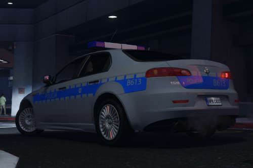 Alfa Romeo 159 Polska Policja