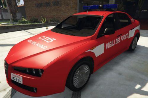 Alfa Romeo 159 - Vigili Del Fuoco | VVF | [ELS]