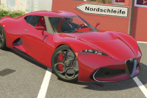 Alfa Romeo 6C Concept by Max Hordin [Add-on | FiveM | Final]