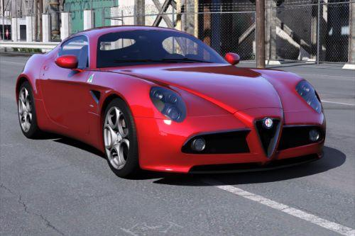 Alfa Romeo 8C Competizione 2008 [Add-On | Extras | Template]