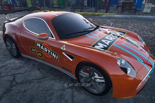 Alfa Romeo 8C Competition  2008 (liveries 4K pack definitive)