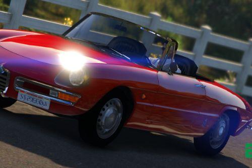Alfa Romeo Duetto 1966  [Add-On / Replace]