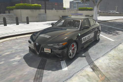 Alfa Romeo Giulia - Los Santos Police