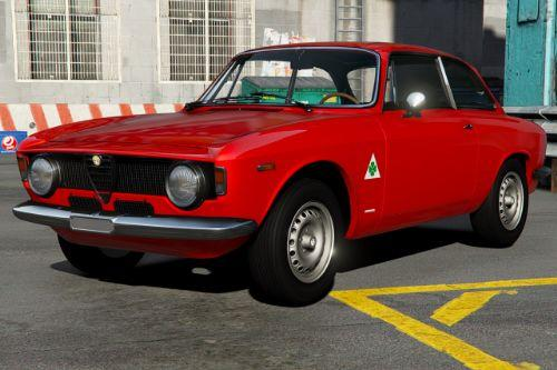 1965 Alfa Romeo Giulia Sprint [Add-On | Extras | Template]